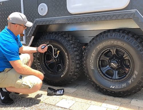 The importance of correct tyre pressure in caravans
