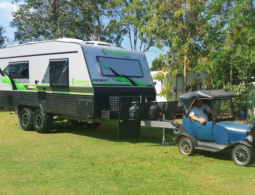 What's the best way to manoeuvre your caravan while at home?